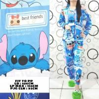 Harga set piyama wanita pajamas baju tidur stitch | Hargalu.com