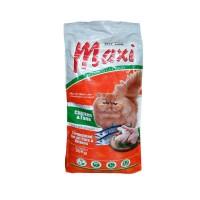 Makanan kucing repack MAXI chiken & tuna 10kg