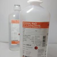 Ecosol NaCL B Braun 500 ml / cairan Infus NaCL