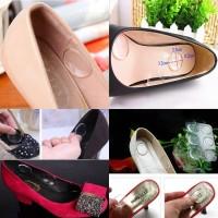 Hug my heel silikon sepatu transparan / shoe pad - BRM012