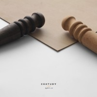 Peralatan Kulit / Leather Tools Wood Slicker