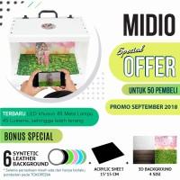 Jual MagicBox Midio Portable Mini Photo Studio Light Box Murah