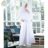 Gamis Fenuza Muslim Wear Zhafira New White Size S