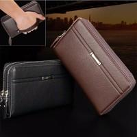 Harga clutch pouch slot kartu kredit smartphone hp pria | antitipu.com
