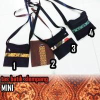 Tas Selempang Mini Model Corak Batik Murah Khas Jawa Laris
