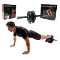 Roller Power Wheel ABS Alat Fitness roller REVOFLEX Xtreme Push Up