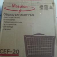 EXHAUST FAN CEF-20 MASPION KHUSUS KIPAS ANGIN HISAP