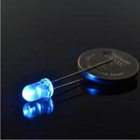 LED Super Bright 5mm Biru, LED Lamp 5 mm Blue