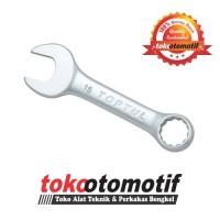 Kunci Ring Pas 15 Mm (Pendek) TOPTUL - Kunci Ring Pas Best Quality