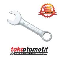 Kunci Ring Pas 11 Mm (Pendek) TOPTUL - Kunci Ring Pas Best Quality