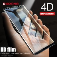 4D Curved Tempered Glass Full Cover For Samsung Galaxy S8 S9 Plus S7 E