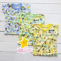 Kaos Anak Oblong Ridges Baju Bayi Harian Anak Karakter