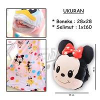 Balmut Karakter Disney Lucu Mickey Minnie Mouse Winnie the Pooh
