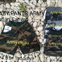 HOTPANTS ANAK ARMY / CELANA PENDEK ANAK ARMY