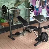 HARGA PROMO Alat Fitness Benchpress Multifungsi FS 501 New Product