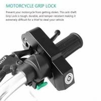 NEWGRIPLOCK GRIP LOCK CAPSLOCK Kunci Gembok Pengaman Motor Anti Maling