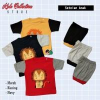 Setelan Baju Bayi Laki Laki Fashion Baby Cowok Lucu Pakaian Anak