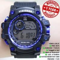 TERLARIS Jam tangan G-SHOCK VISIONER VS8528 Digital/SKMEI/CASIO WR30M