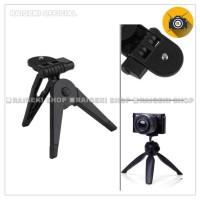 Portable Mini Folding Tripod 2 In 1 For DSLR , Action Cam, Smartphone