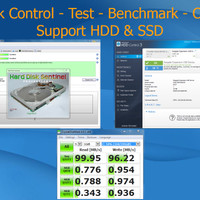HardDisk Control - Test - Benchmark - Check Up HDD & SSD