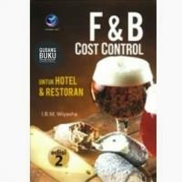 Buku F&B Cost Control untuk Hotel & Restoran edisi 2