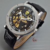 jam tangan pria ferrari UFAE HAMILTON automatic !!! Barang Oke