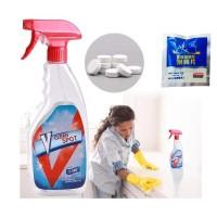 V Clean Spot Effervescent Spray Cleaner Pembersih Serba guna