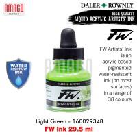DALER-ROWNEY - FW INK 29.5 ML - LIGHT GREEN - 160029348