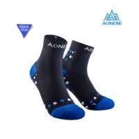 Aonijie E4092 Running Socks - Kaos kaki lari sepeda outdoor- BLUE