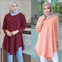 Blouse Atasan Tunik Utami Baju Wanita Muslim Kekinian