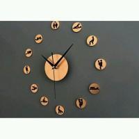 DIY Giant Wall Clock 30-60cm Diameter - Jam Dinding Raksasa alat c5b18a69a8