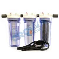 Paket EKO 3 - Saringan / Filter Air Siap Pakai 3 Housing