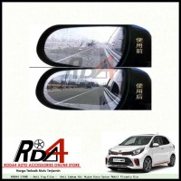 Anti Fog Film - Anti Embum Air Hujan Kaca Spion Mobil Picanto Kia