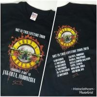 Jual Kaos Baju Band Rock Legend GNR Guns N Roses Jakarta - GNR52 BK FNB Murah
