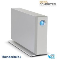 Lacie D2 8TB Thunderbolt 2 Desktop Drive Dual Thunderbolt 8 tb
