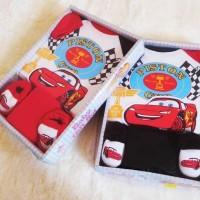 Pakaian Bayi Laki-Laki Baju & Sepatu Paket Baru Lahir / Baby G AIB1273