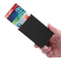 Tempat Kartu ATM RFID PROTECTION Card Holder Dompet Alumunium Alloy