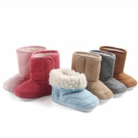 PW45 - Prewalker boots tekuk polos shoes baby boy girl