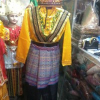 Baju saman tari adat aceh Sma - pakaian dewasa