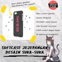 casing softcase desain bebas hp samsung xiaomi oppo asus iphone etc
