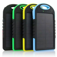 Promo! Power Bank Solar Surya Cell 8000mAh OD-81 - Good Quality Murah!