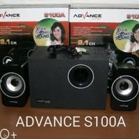 SPEAKER ADVANCE S100A / AUDIO SPEAKER S100 ORIGINAL SUPER BASS