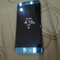 Samsung S7 Edge single seken Mulus Minus layar shadow