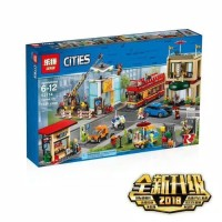 MAINAN ANAK LEGO BRICK LEPIN 02114 CITIES CAPITAL CITY 1356 PCS