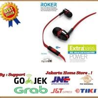 Handsfree Roker Extra Bass ORI Earphone Headset Universal