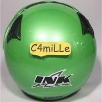 Terbaru Helm INK CX22 CX 22 Original Green Apple