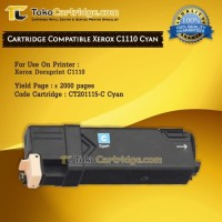 Cartridge Compatible Printer Xerox Docuprint C1110 Cyan