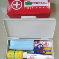Kotak P3K Plus 10 First Aid Kit Home and Car - Rescue