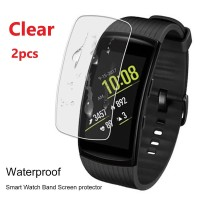 2pcs Clear Screen Protector for Samsung Gear Fit 2 / Pro (isi 2 pcs)