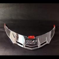Spoiler Clear Helm KYT Vendetta Gpr Racing Look